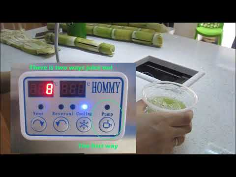 ZJ170 sugarcane juice machine with cooling system 2017, commerial sugarcane juice machine
