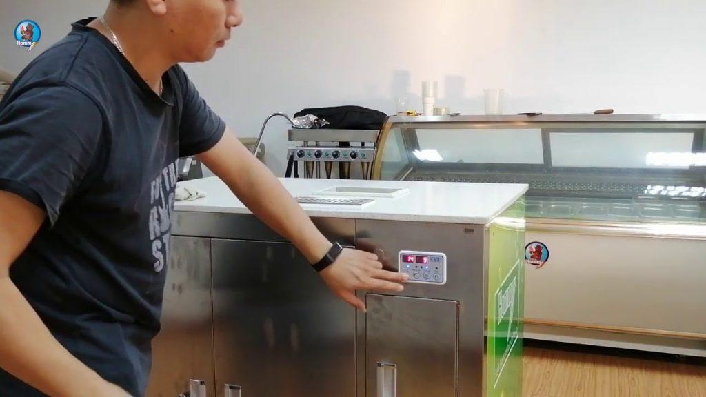 ZJ200 sugarcane juice machine operation